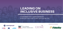 Leading on Inclusive Business