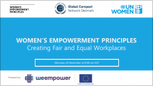 Creating Fair and Equal Workplaces