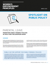 Spotlight on Public Policy Parental Leave