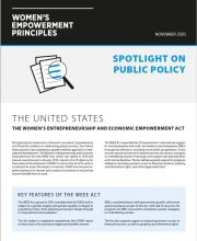 Public Policy Case Study- United States