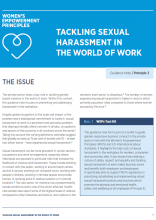 Tackling Sexual Harassment at World