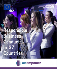 Women's Economic Empowerment through Responsible Business Conduct in G7 Countries