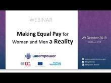Making Equal Pay for Women and Men a Reality